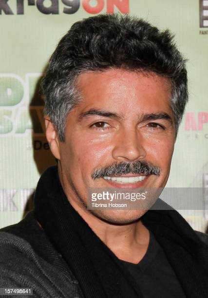 Esai Morales attends the Delhi Safari Los Angeles premiere at Pacific Theatre at The Grove on December 3 2012 in Los Angeles California