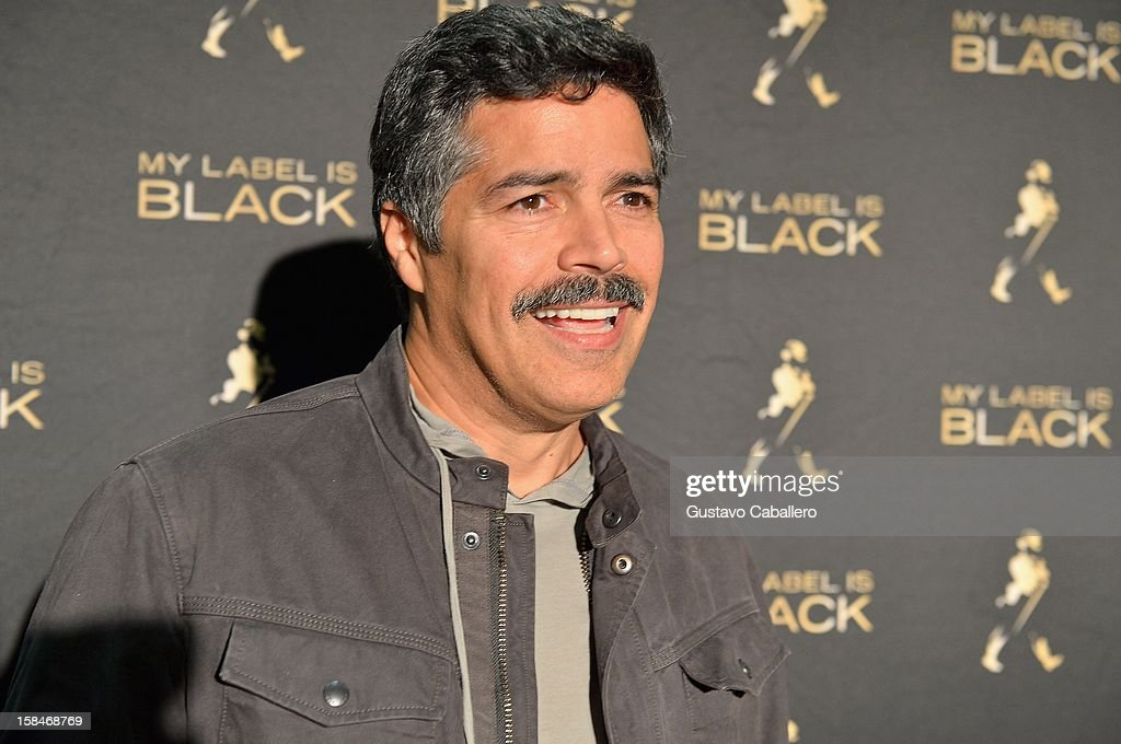 Esai Morales attends the Johnnie Walker My Label is Black - at Bongos on December 13, 2012 in Miami, Florida.