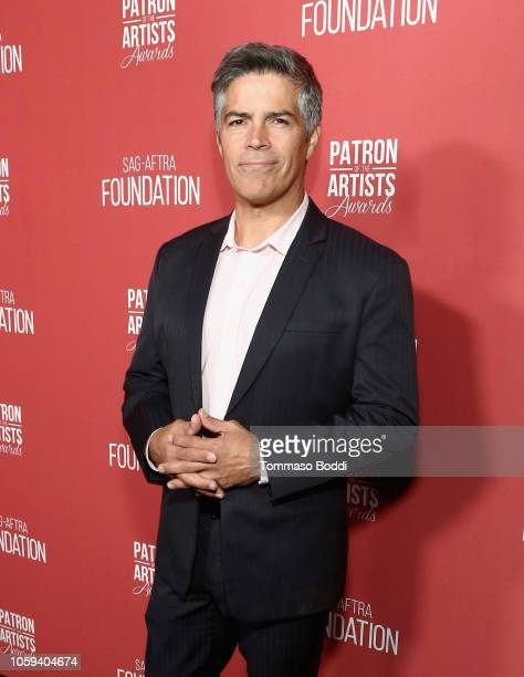 Esai Morales attends the SAGAFTRA Foundation's 3rd Annual Patron of the Artists Awards at the Wallis Annenberg Center for the Performing Arts on...