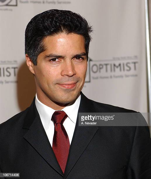 Esai Morales during 6th Annual Mentor Awards Gala in Honor of Raquel Welch Esai Morales and L A City Attorney Rocky Delgadillo at Beverly Hilton...