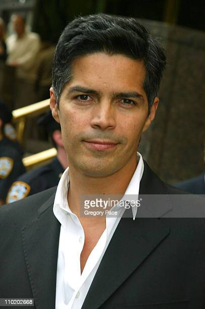 Esai Morales during ABC 20042005 Upfront Arrivals at Midtown Hotel and Cipriani's in New York City New York United States