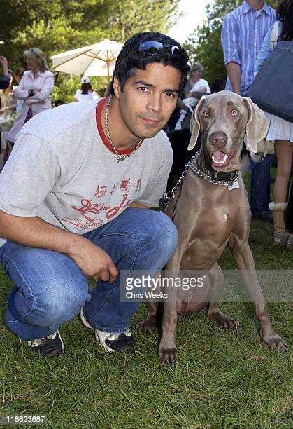 "Esai Morales during Silver Spoon Dog and Baby Buffet"" Benefitting Much Love Animal Rescue Day One at Private Residence in Beverly Hills California..."