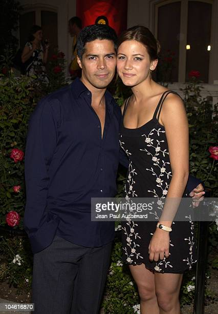 Esai Morales Nathalie Fay during ABC 2002 Summer Press Tour All Star Party at Tournament House in Pasadena California United States