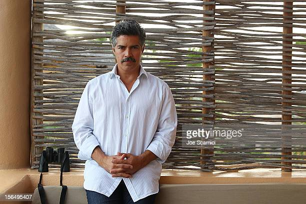 Esai Morales poses for a portrait at the Esperanza Resort on November 15 2012 in Cabo San Lucas Mexico