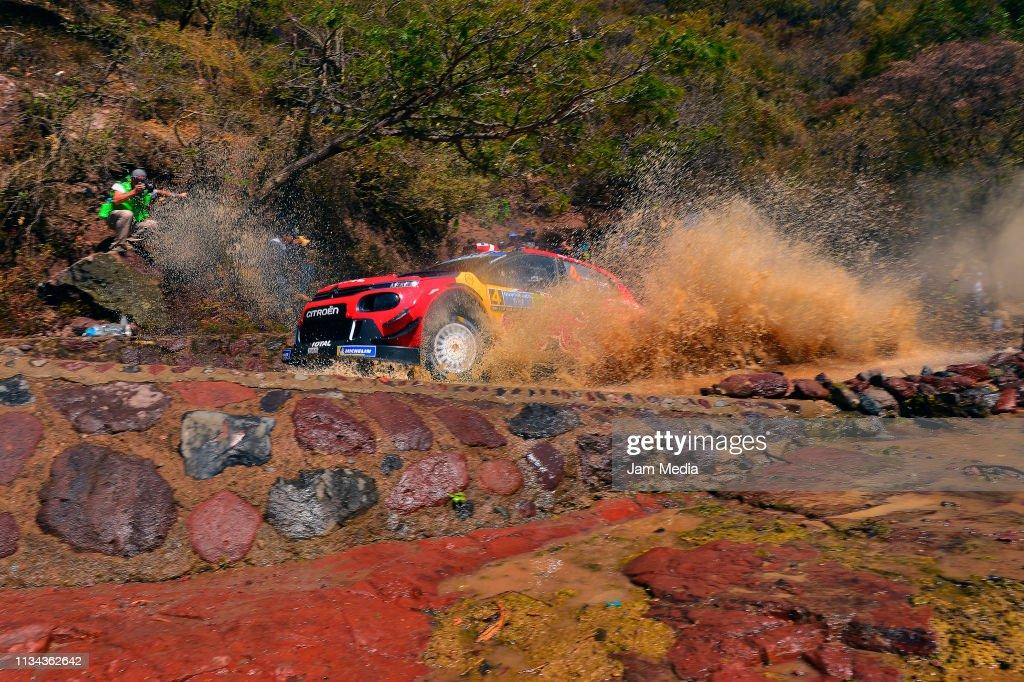 FIA World Rally Championship Guanajuato Mexico - Shakedown : News Photo