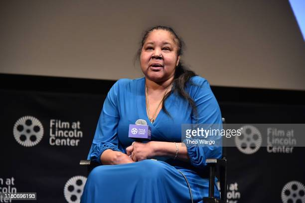 Esaw Garner attends the 57th New York Film Festival American Trial The Eric Garner Story at Walter Reade Theater on October 12 2019 in New York City