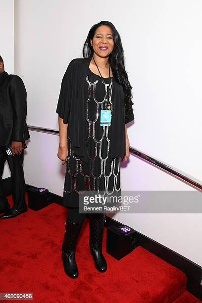 Esaw Garner attends The BET Honors 2015 at Warner Theatre on January 24 2015 in Washington DC