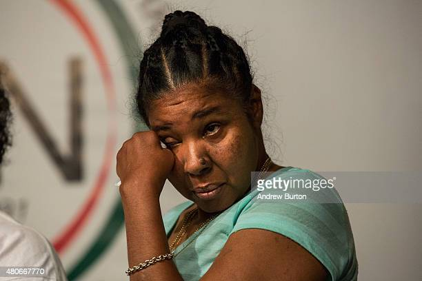Esaw Garner Eric Garner's wife attends a press conference held with her familiy members and the Reverand Al Sharpton calling for further justice and...