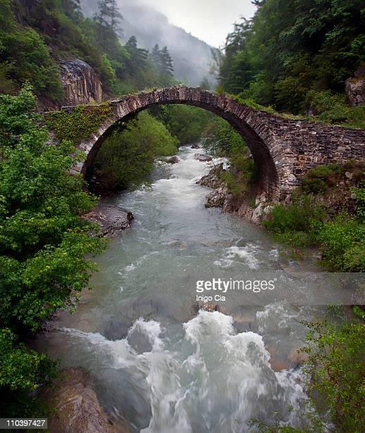 esca river - comunidad foral de navarra fotografías e imágenes de stock