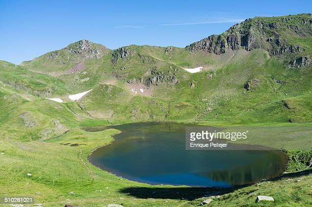 Escalar lake in spanish Pyrenees