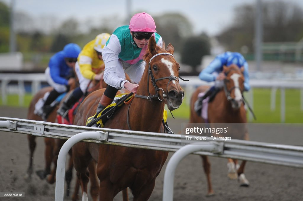 Horse racing easter family fun day kempton park racecourse escalating ridden by james doyle wins the betfed tv british stallion studs ebf maiden stakes negle Gallery