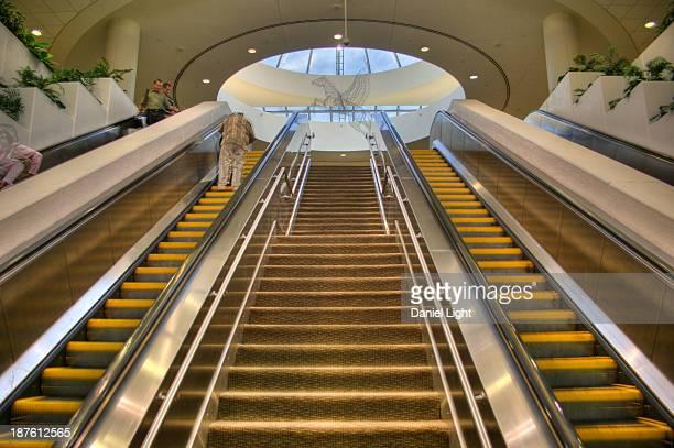 Escalator at Louisville International Airport, SDF.