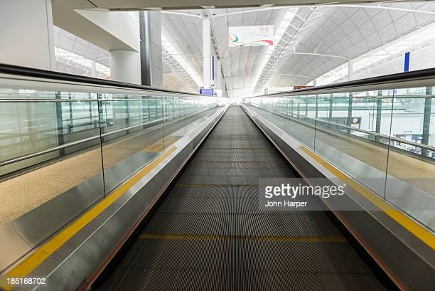 Escalator, Hong Kong International Airport
