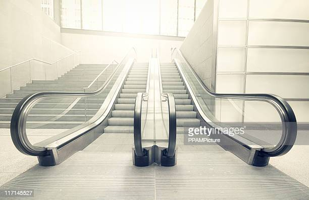 Escalator in the sun