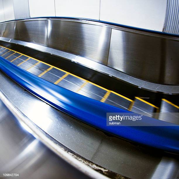 Escalator motion blur