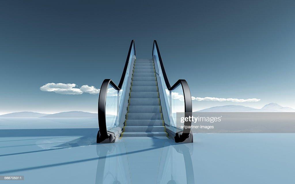 Escalator : Stock Photo