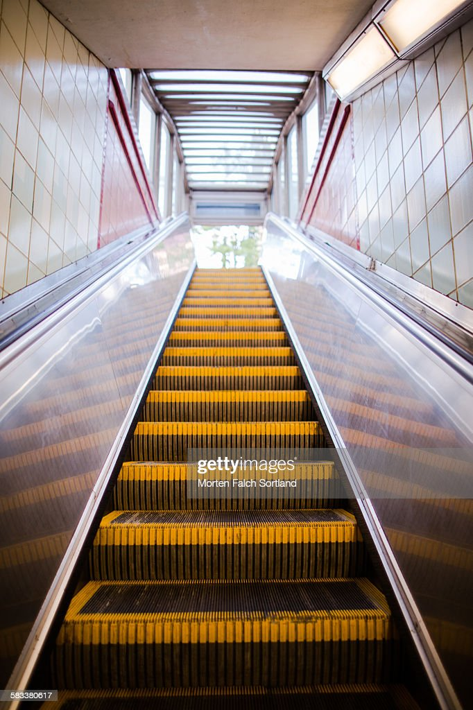 Escalator : Stock Photo