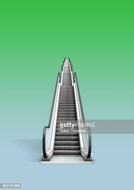 escalator - escalator stock pictures, royalty-free photos & images