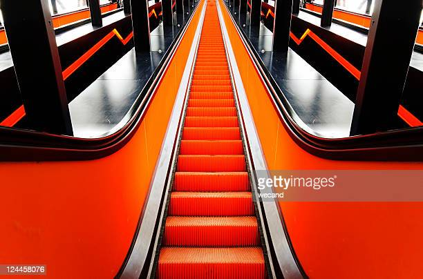 Escalator staircase