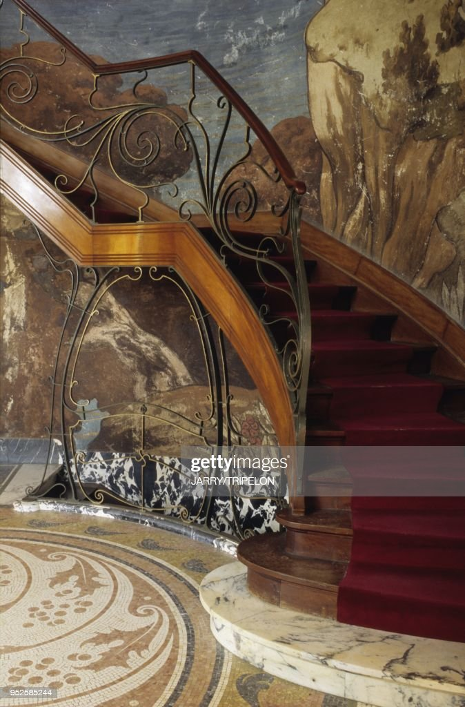 STAIRCASE HANNON HOTEL BRUSSELS WALLONIA BELGIUM