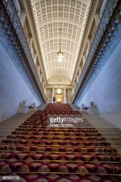 Escalier d'honneur du Sénat le 18 novembre 2014 Paris France