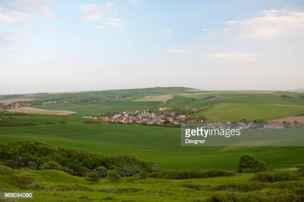 escalles, france - hauts de france stock photos and pictures