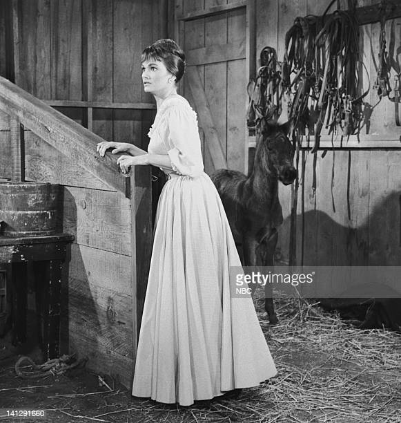BONANZA Escape to Ponderosa Episode 25 Aired 3/5/60 Pictured Gloria Talbott as Nedda Photo by NBCU Photo Bank
