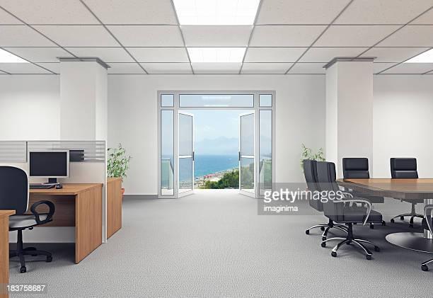 Flucht vor der Büro