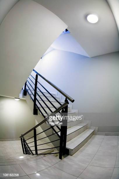 escher staircase - esher stock pictures, royalty-free photos & images