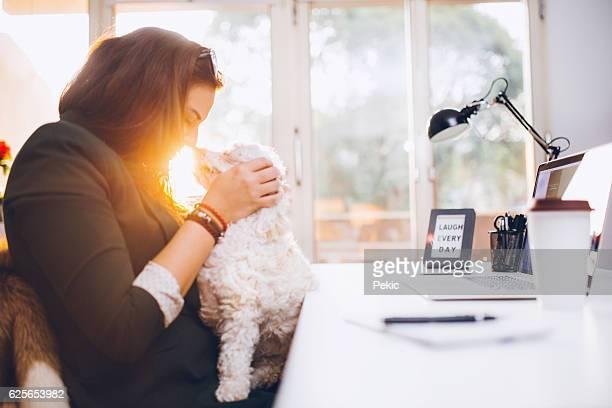 Escimo kiss with my dog!