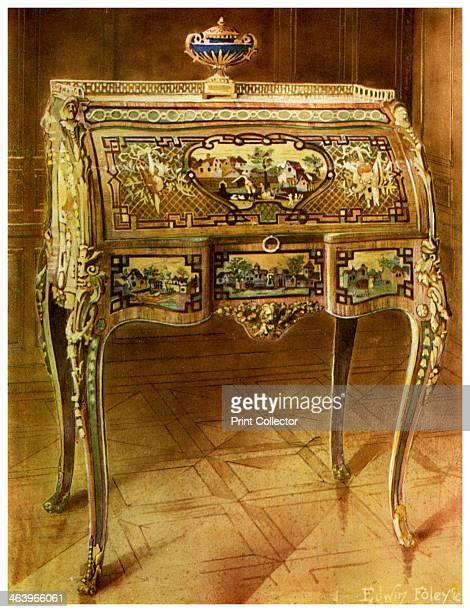 Escritoire a toilette French Victoria and Albert Museum London 19111912 Believed to have been the property of Queen Marie Antoinette French...