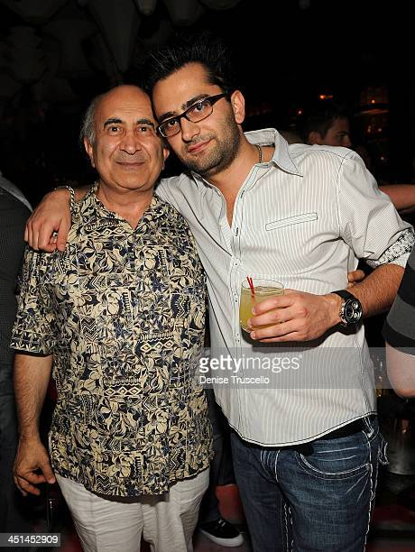 B Esfandiari and Antonio Esfandiari attend Blush Nightclub at The Wynn Hotel And Casino Resort on July 2 2009 in Las Vegas Nevada
