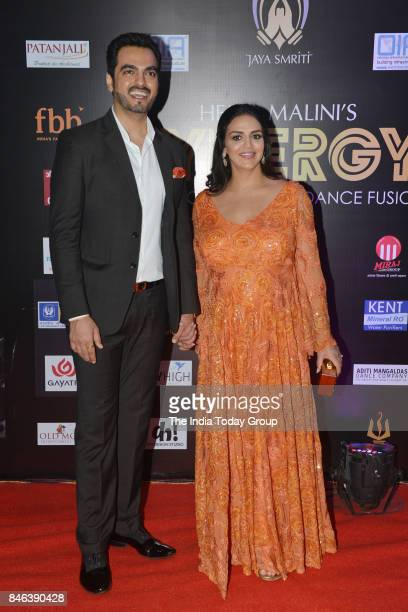 Esha Deol and Bharat Takhtani during SYNERGY 2017 An International Cultural Dance Festival in Mumbai