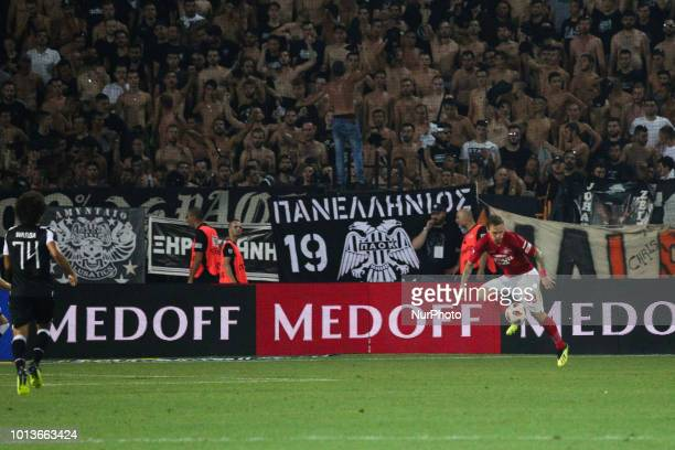 Eshchenko Andrey Olegovich Eshchenko controlling the ball PAOK vs Spartak Moscow 32 for Champions League third qualifying round PAOK defeated Spartak...