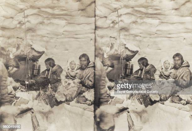 Eskimo Family Northwest Territories The aim of this expedition was to make the first complete journey through the Northwest Passage and to locate the...