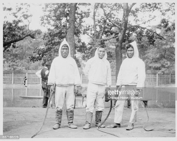 Eskimos at the World's Columbian Exposition Chicago Illinois 1893