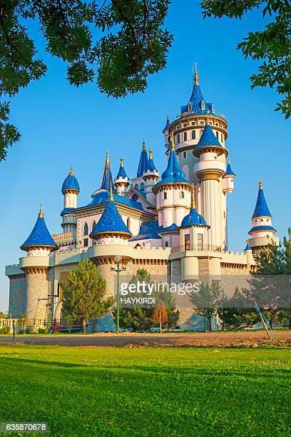 Eskisehir Sazova park fairy tale castle