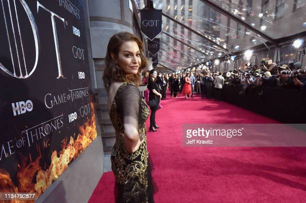 Esme Bianco attends the Game Of Thrones Season 8 NY Premiere on April 3 2019 in New York City