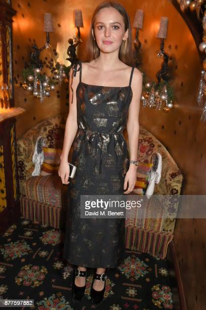 Esme Chapman attends the Nick Cave The Bad Seeds x The Vampires Wife x Matchesfashioncom party at Loulou's on November 22 2017 in London England