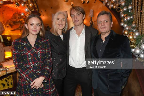 Esme Chapman Ruth Chapman Luke Chapman and Tom Chapman attend the Nick Cave The Bad Seeds x The Vampires Wife x Matchesfashioncom party at Loulou's...