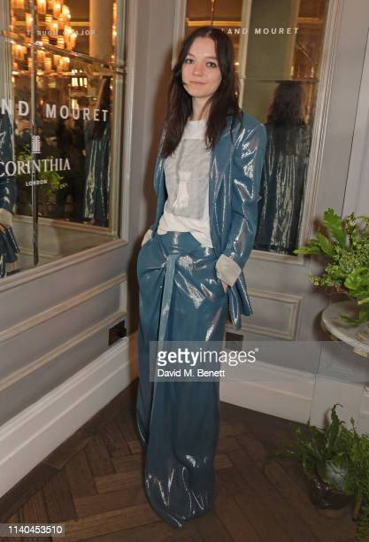Esme CreedMiles attends a luncheon hosted by Roland Mouret in celebration of Women Filmmakers at the Corinthia Hotel London on May 1 2019 in London...