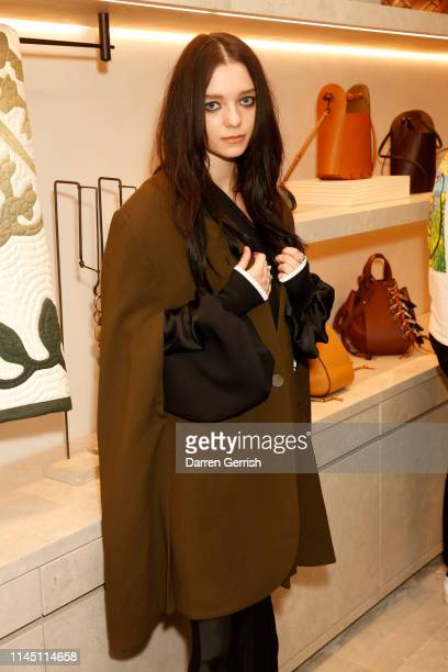 Esme CreedMiles attends the CASA LOEWE New Bond Street opening on April 25 2019 in London England