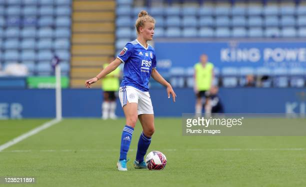 Esmee De Graaf of Leicester City Women during the Barclays FA Women's Super League match between Leicester City Women and Manchester United Women at...