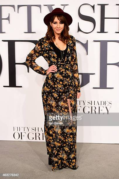 Esmee Denters attends the UK Premiere of 'Fifty Shades Of Grey' at Odeon Leicester Square on February 12 2015 in London England