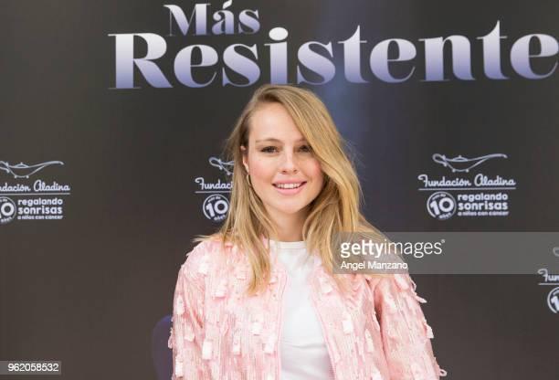 Esmeralda Moya attends 'La Butaca Mas Resistente' charity auction on May 24 2018 in Madrid Spain