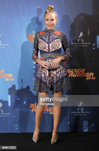 Esmeralda Moya attends the 'Blade Runner 2049' premiere at the Callao City Lights cinema on October 5 2017 in Madrid Spain