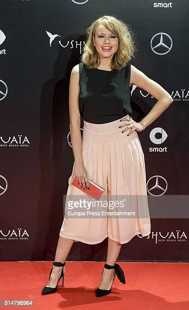 Esmeralda Moya attends the presentation of the new Smart Ushuaia Limited Edition 2016 on March 10 2016 in Madrid Spain