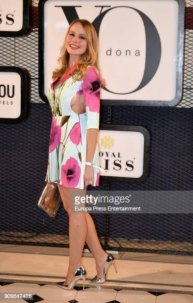 Esmeralda Moya attends the 'Yo Dona' party at Only You Hotel Atocha on January 23 2018 in Madrid Spain