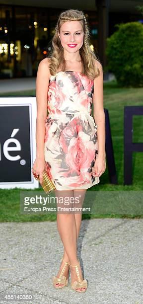 Esmeralda Moya attends Tresemme MFSHOW on September 8 2014 in Madrid Spain