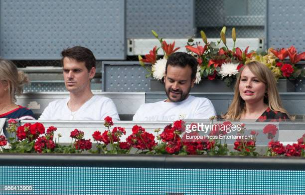 Esmeralda Moya during day three of the Mutua Madrid Open tennis tournament at the Caja Magica on May 8 2018 in Madrid Spain